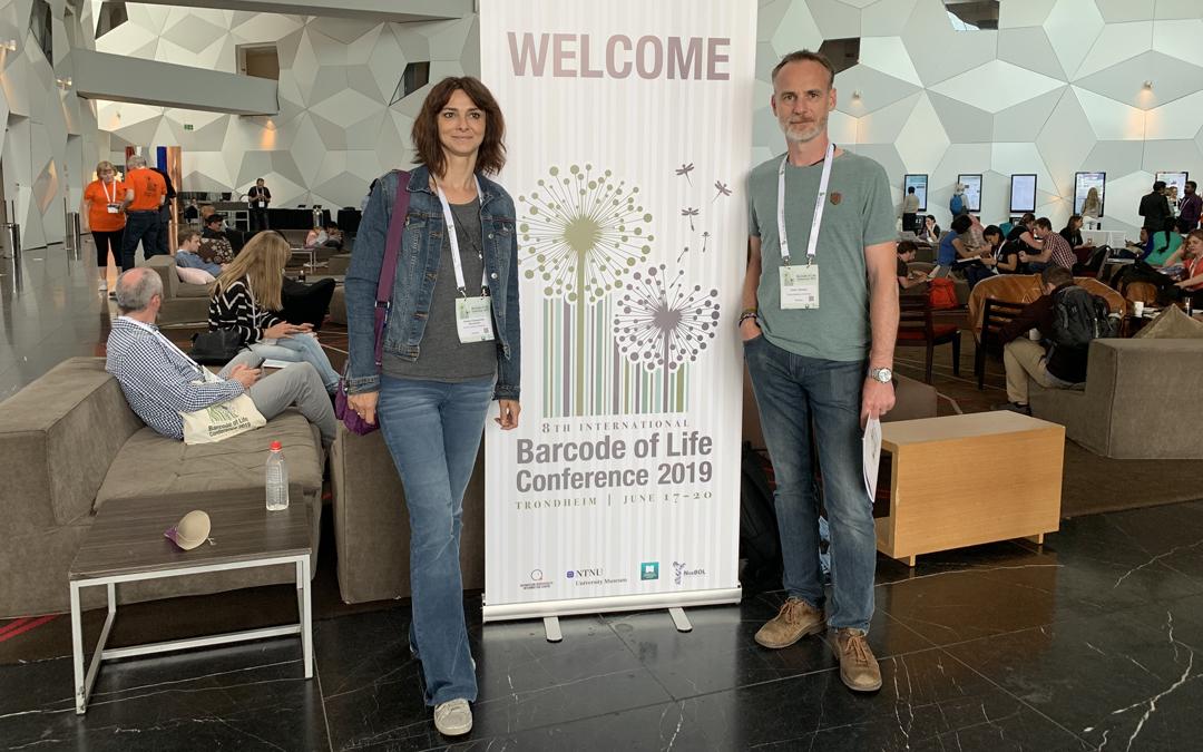 AquaBOL.SK na 8th International Barcode of Life Conference 2019