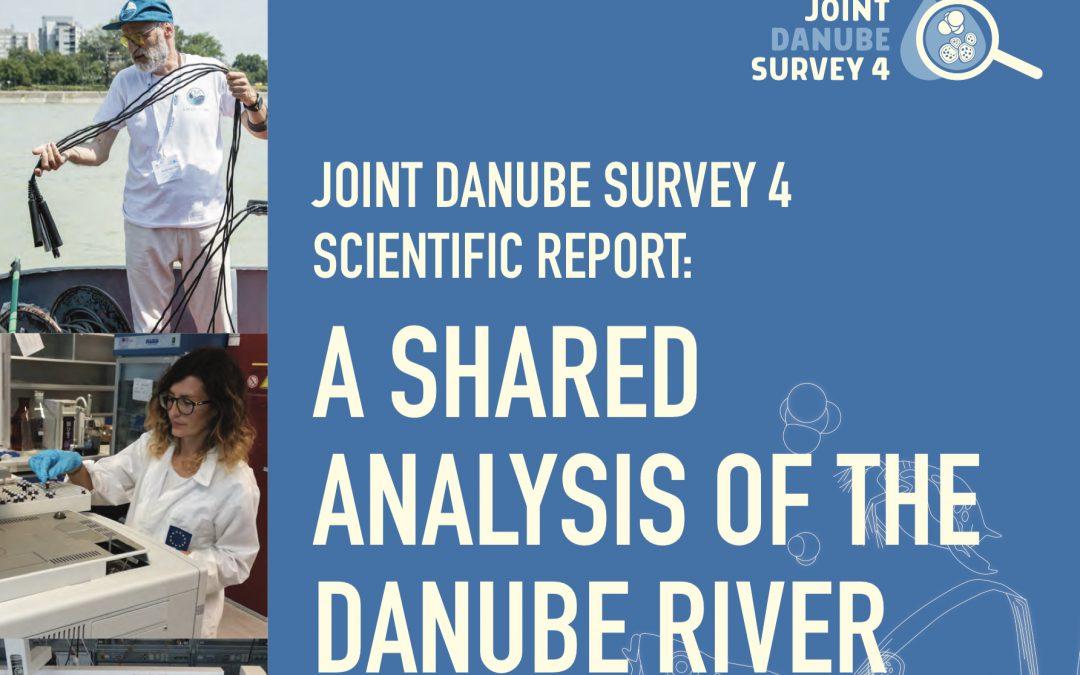 """Joint Danube Survey 4"" Scientific Report publikovaný!"